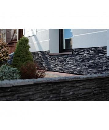 Barcelona Dark grey Artificial Stone Cladding