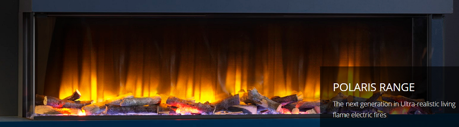 Polaris - The next generation in Ultra-realistic living flame electric fires