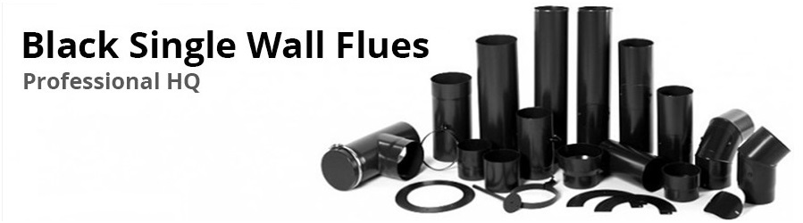 Single Wall Flues and Connecting Pipes