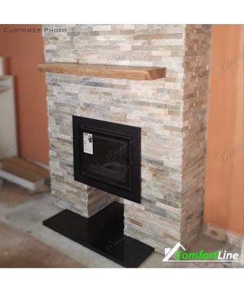 Antek Deco cast iron insert stove 10kw