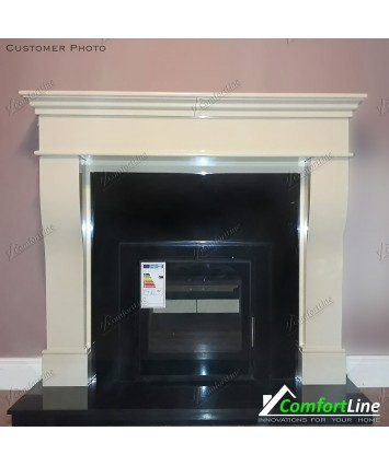 Pisa Marble Fire-Surround