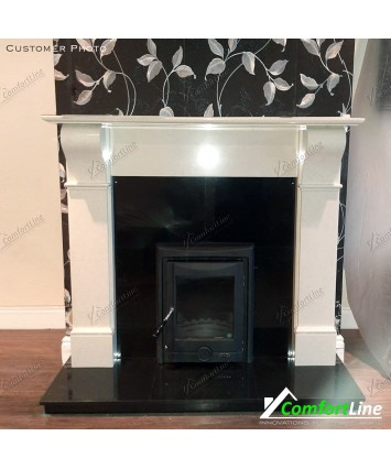 Naples Marble Fire-Surround