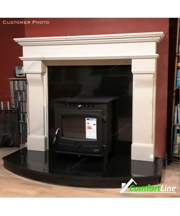 Veneto Fireplace Set & Inset stove, Fully Fitted