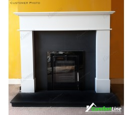 BALMORAL FIREPLACE SET & INSERT STOVE, FULLY FITTED