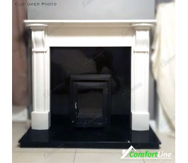EDINBURGH FIREPLACE SET FULLY FITTED