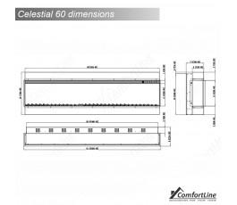 Celestial 60'' Electric Fire