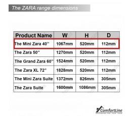 Zara 40'' Mini Electric Fire