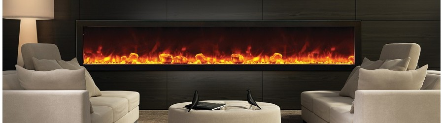The Infinity Ecoflame Range Electric Fires