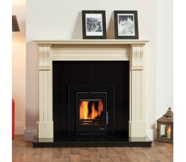 DUBLIN CORBEL FIREPLACE SET,  FULLY FITTED