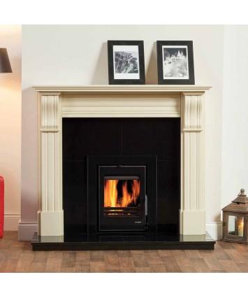 Cream Dublin Corbel Marble Fireplaces