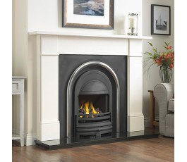 Flat Victorian Fireplace