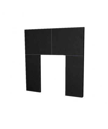 Granite Insert Back panel for Fireplace