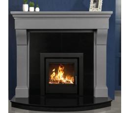 Cabra Luna Grey Fireplace
