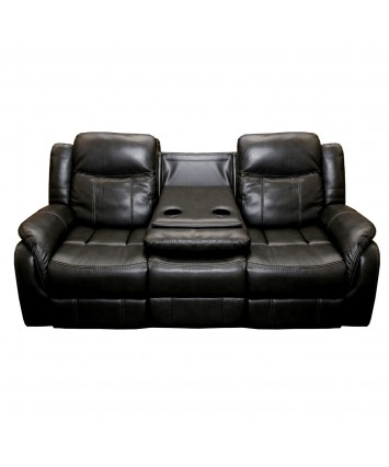 Brooklyn 3 Seater Recliner sofa black