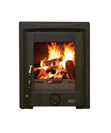 Henley Apollo insert stove matt black 7kw