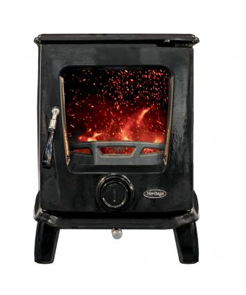 Heritage Ashford stove enamel black