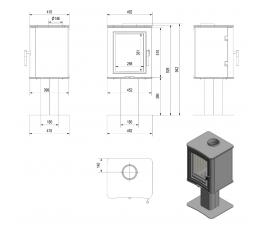 KOZA K5 Pedestal