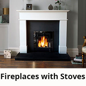 Fireplaces with Inset Stoves, Fully Fitted