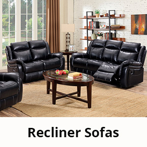Recliner Sofa Sets and Reclining Couches